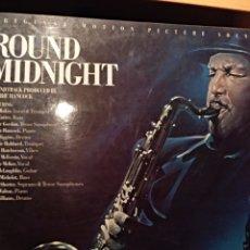 Disques de vinyle: ROUND MIDNIGHT. Lote 155505862
