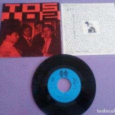 Discos de vinilo: MUY RARO/JOYA. TOS - MAQUINAS - PRE SECRETOS / PRIMER TRABAJO - DOS ROMBOS DOS 003.AÑO 1982.+ENCARTE. Lote 155516366