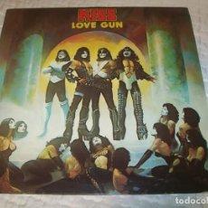 Discos de vinilo: KISS - LOVE GUN ...LP DE HEAVY METAL - DE CASABLANCA . GERMANY ..1ª EDICION 1977. Lote 155517314