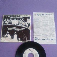 Discos de vinilo: JOYA PUNK EP.SINIESTRO TOTAL-AYUDANDO A LOS ENFERMOS- SELLO DRO. DRO 006. AÑO 1982 //CON INSERT/.. Lote 155518662