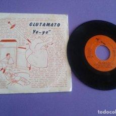 Discos de vinilo: RARO EP.GLUTAMATO YE YE - CORAZON LOCO. SELLO - DRO 005 - AÑO 1982 - SPAIN MOVIDA 80S. . Lote 155519690