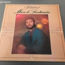 Discos de vinilo: LP MANOLO SANTARRUA - FALADERU - CANCIÓN ASTURIANA MODERNA. Lote 155524154