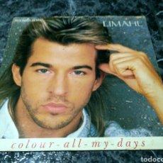 Discos de vinilo: LIMAHL - COLOUR ALL MY DAYS = DA COLOR A MIS DÍAS. Lote 155527798