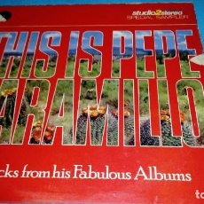 Discos de vinilo: PEPE JARAMILLO THE BEST. Lote 155534834