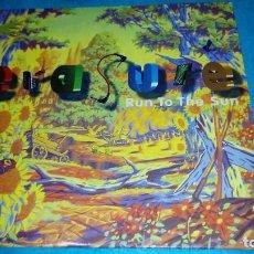 Discos de vinilo: ERASURE - RUN TO THE SUN (MLP, RCA, 1994) . Lote 155543002
