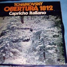 Discos de vinilo: FESTIVAL TSCHAIKOWSKY. CAPRICHO ITALIANO. OBERTURA SOLEMNE 1812. MARCHA ESLAVA.. Lote 155544034