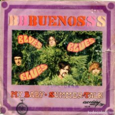 Discos de vinilo: LOS BUENOS / MY BABY / SUMMER-TALK (SINGLE 1969). Lote 155544626
