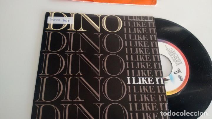 SINGLE (VINILO) DE DINO AÑOS 80 (Música - Discos de Vinilo - Singles - Pop - Rock Extranjero de los 80)