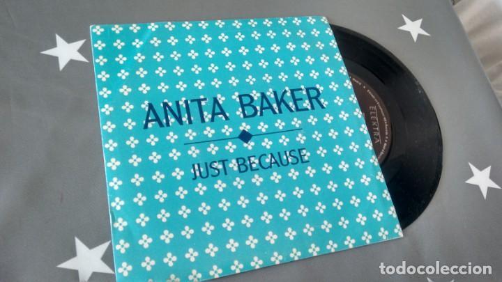 SINGLE (VINILO)-PROMOCION- DE ANITA BAKER AÑOS 80 (Música - Discos de Vinilo - Singles - Pop - Rock Extranjero de los 80)