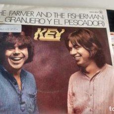 Discos de vinilo: SINGLE (VINILO) DE KEY AÑOS 70. Lote 155553994
