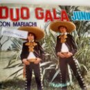 Discos de vinilo: SINGLE (VINILO) DE DUO GALA JUNIOR AÑOS 80. Lote 155554610