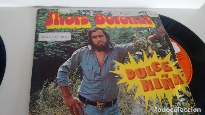 SINGLE (VINILO) DE JHORS BORONAT AÑOS 70 (Música - Discos - Singles Vinilo - Pop - Rock - Extranjero de los 70)
