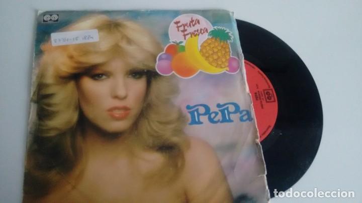 SINGLE (VINILO) DE PEPA CHACON AÑOS 80 (Música - Discos - Singles Vinilo - Solistas Españoles de los 70 a la actualidad)
