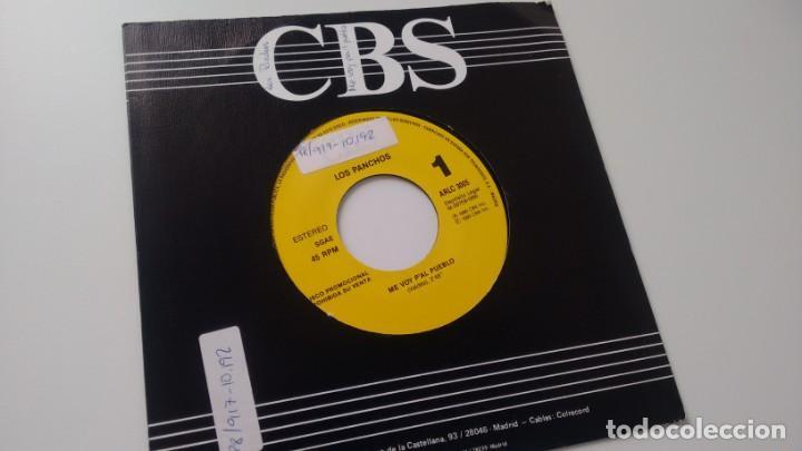 SINGLE (VINILO)-PROMOCION- DE LOS PANCHOS AÑOS 90 (Música - Discos - Singles Vinilo - Grupos y Solistas de latinoamérica)