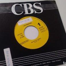 Discos de vinilo: SINGLE (VINILO)-PROMOCION- DE LOS PANCHOS AÑOS 90. Lote 155555122