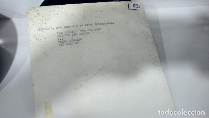 E P ( VINILO) DE CISNEROS SUS PIANOS Y SU RITMO AÑOS 60 (Música - Discos de Vinilo - EPs - Orquestas)