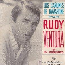 Discos de vinilo: EP -LOS CAÑONES DE NAVARONE--,RUDY VENTURA. Lote 155567754