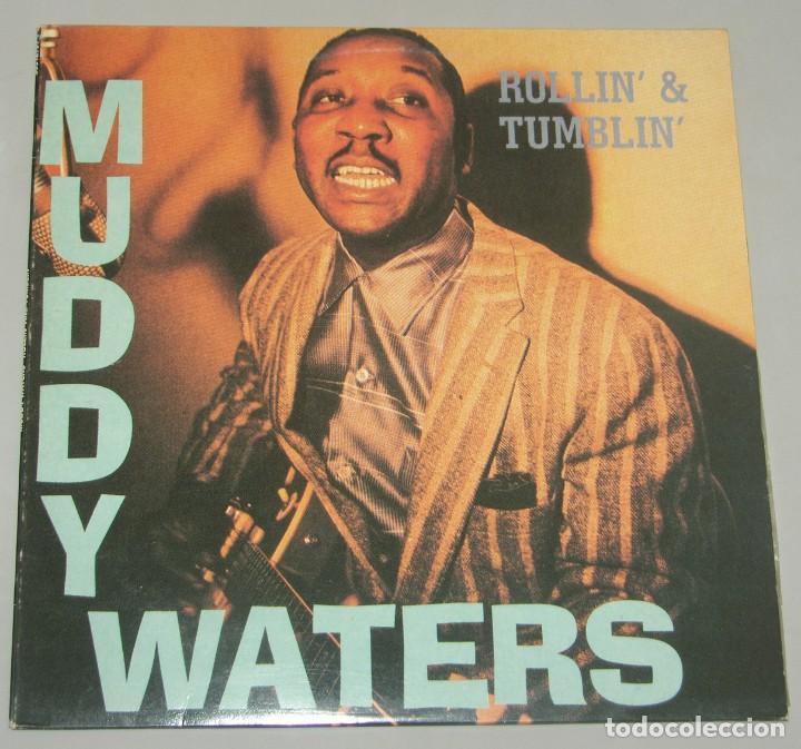 MUDDY WATERS - ROLLIN' & TUMBLIN' - 2XLP - SERDISCO 1991 (Música - Discos - LP Vinilo - Jazz, Jazz-Rock, Blues y R&B)