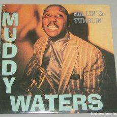 Discos de vinilo: MUDDY WATERS - ROLLIN' & TUMBLIN' - 2XLP - SERDISCO 1991. Lote 155570530