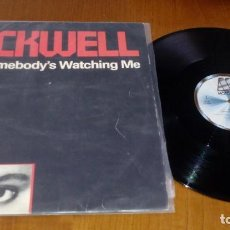 Discos de vinilo: ROCKWELL–SOMEBODY'S WATCHING ME . Lote 155595122