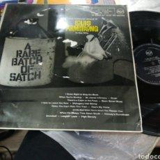 Discos de vinilo: LOUIS ARMSTRONG LP A RARE BATCH OF SATCH ESPAÑA 1961. Lote 155595678