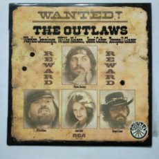 Discos de vinilo: THE OUTLAWS. LOS FUGITIVOS. - WANTED LP. TDKLP. Lote 155608682
