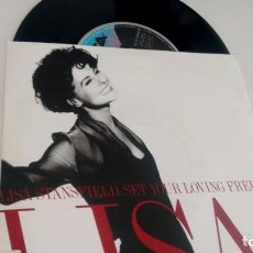 Discos de vinilo: SINGLE (VINILO) DE LISA STANFIELD AÑOS 90. Lote 155608730