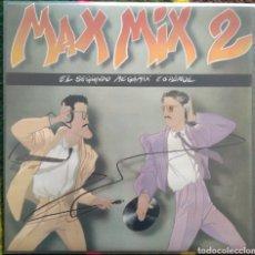 Discos de vinilo: MAX MIX 2 (EL SEGUNDO MEGAMIX ESPAÑOL). Lote 155609813