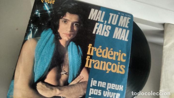 SINGLE (VINILO) DE FREDERIC FRANÇOIS (Música - Discos - Singles Vinilo - Canción Francesa e Italiana)
