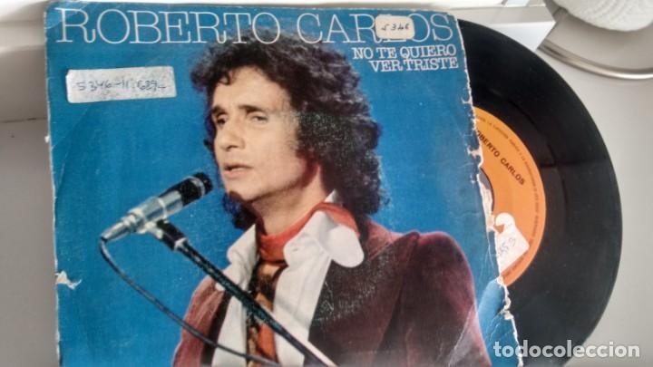 SINGLE (VINILO) DE ROBERTO CARLOS AÑOS 70 (Musik - Vinyl-Schallplatten - Singles - Gruppen und Solisten aus Lateinamerika)