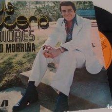 Discos de vinilo: SINGLE (VINILO) DE LUIS LUCENA AÑOS 70. Lote 155611602