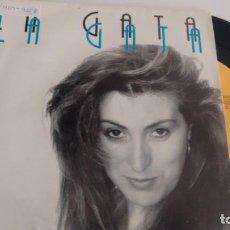 Discos de vinilo: SINGLE (VINILO) DE LA GATA AÑOS 90. Lote 155611730