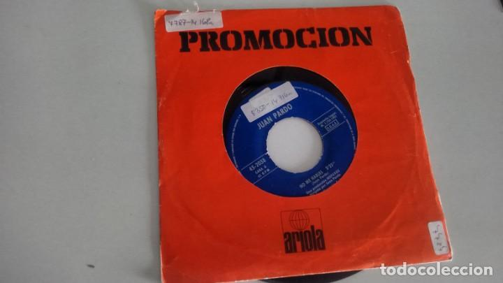 SINGLE (VINILO) DE JUAN PARDO AÑOS 80 (Música - Discos - Singles Vinilo - Solistas Españoles de los 70 a la actualidad)