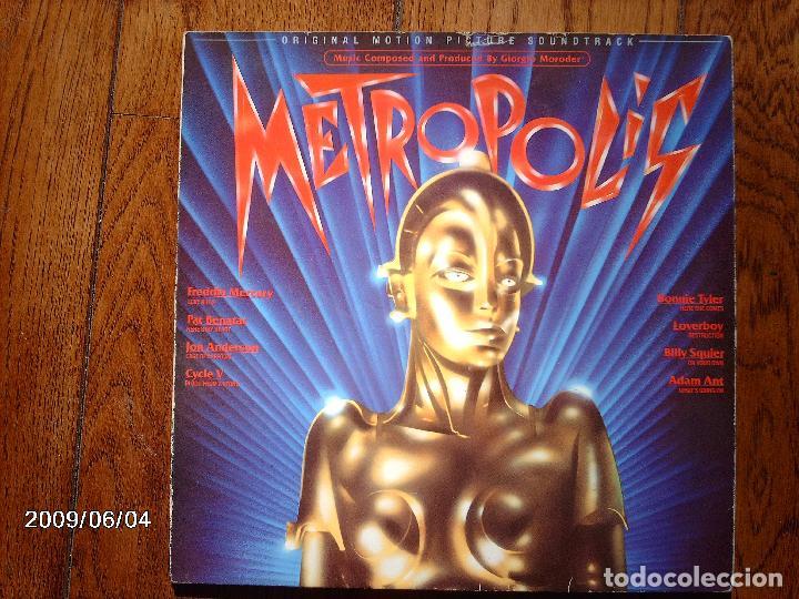 BANDA SONORA ORIGINAL DE LA PELICULA METROPOLIS - FREDDIE MERCURY + PAT BENATAR +... (Música - Discos - LP Vinilo - Bandas Sonoras y Música de Actores )