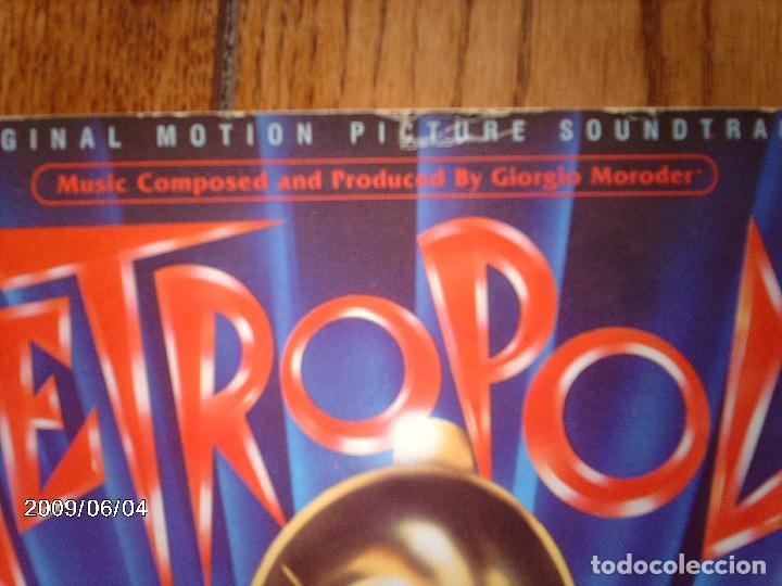 Discos de vinilo: banda sonora original de la pelicula metropolis - freddie mercury + pat benatar +... - Foto 2 - 155613370