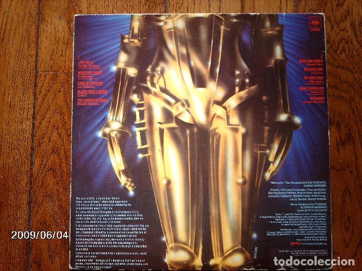 Discos de vinilo: banda sonora original de la pelicula metropolis - freddie mercury + pat benatar +... - Foto 4 - 155613370