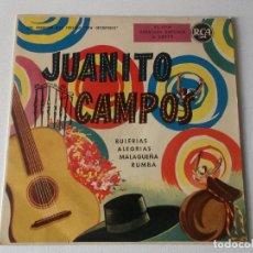 Discos de vinilo: JUANITO CAMPOS, ARBOLEA,EA,EA, CARACOLITOS DE MAR,CELOS DEL RIO,EN BUSCA DE UN BESO, RCA. Lote 155614234