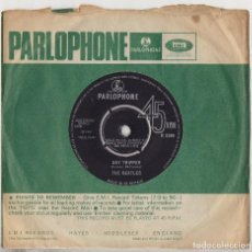 Discos de vinilo: THE BEATLES DAY TRIPPER / WE CAN WORK IT OUT ORIGINAL 1965 UK 45 SINGLE R5389. Lote 155616662