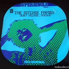Discos de vinilo: THE RITCHIE FAMILY - QUIET VILLAGE - MAXI SINGLE.12. Lote 155621234