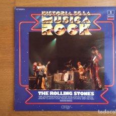 Discos de vinilo: THE ROLLING STONES: HISTORIA DE LA MÚSICA ROCK. Lote 155623246
