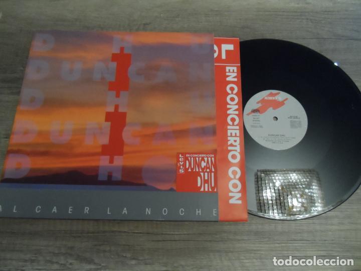 DUNCAN DHU - AL CAER LA NOCHE (Música - Discos de Vinilo - Maxi Singles - Grupos Españoles de los 70 y 80)