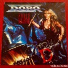 Discos de vinilo: DORO PESCH AUTOGRAFO - VINILO LP EDICION ALEMANA DEL AÑO 1989 FORCE MAJEURE DE DORO PESCH FIRMADO. Lote 155639626