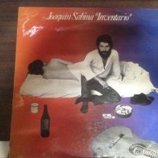 Discos de vinilo: LP DISCO VINILO JOAQUIN SABINA INVENTARIO. Lote 155641382