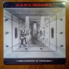 Discos de vinilo: GARY MOORE - CORRIDORS OF POWER, VIRGIN, 1982. FRANCE.. Lote 155646858