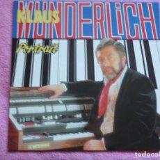 Discos de vinilo: KLAUS WUNDERLICH, PORTRAIT EDICION BELGA. Lote 155647870