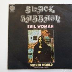 Vinyl records - Black Sabbath Evil Woman Single Español - 155651893
