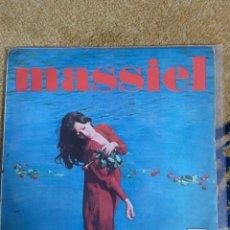 Discos de vinil: MASSIEL - ROSAS EN EL MAR. Lote 155654806