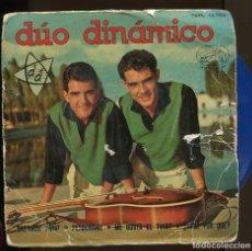 Discos de vinilo: DUO DINÀMICO.. PERDONAME. ETC. VINILO AZUL. LA VOZ DE SU AMO 1962. Lote 155659322