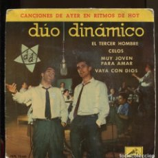 Discos de vinilo: DUO DINÀMICO.. EL TERCER HOMBRE ETC. EP LA VOZ DE SU AMO 1961. Lote 155659950