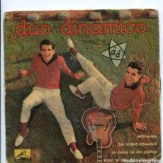 Discos de vinilo: DUO DINÀMICO..NOSTALGIA, LA CHICA DE MIS SUEÑOS, EP LA VOZ DE SU AMO 1961. Lote 155660190